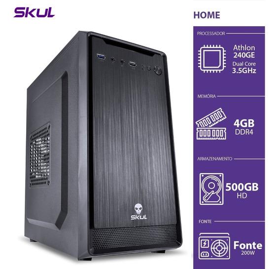 Computador Home H200 - Athlon Dual Core 240ge 3.5ghz 4gb Ddr