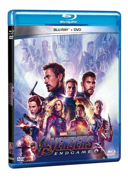 Avengers Endgame Pelicula Marvel 2 Blu-ray + Dvd