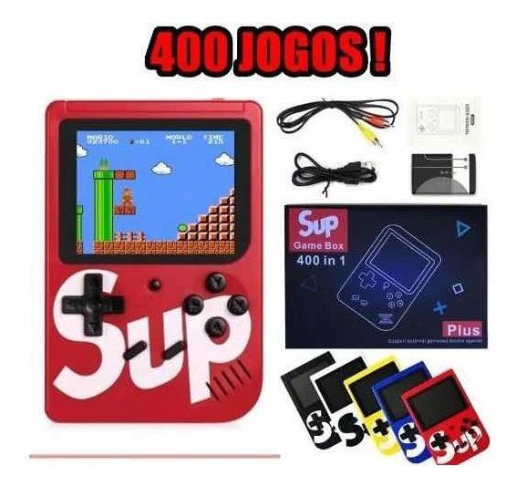 Game Box Retro Portátil - 400 Jogos