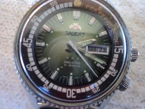 Relogio Oriente 3 Cabeça Automatico-king- Diver..