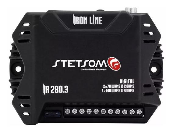 Módulo Amplificador Stetsom Ir 280.3 280w Rms 3 Canais Novo