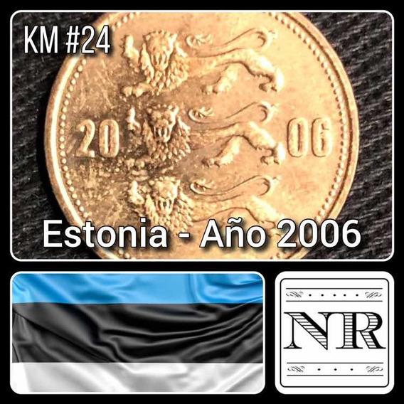 Estonia - 50 Senti - Año 2006 - Km # 24 - Escudo