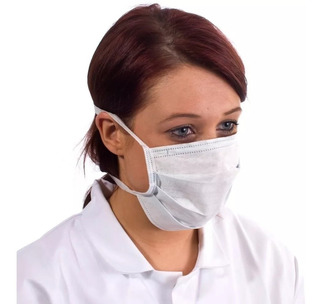 Barbijos Descartables Clip Nasal X Unidad Prevención