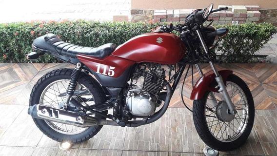 Cafe Racer Suzuki 115