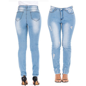 4381a1ccc Calça Jeans Feminina Para Senhoras - Calçados, Roupas e Bolsas no ...