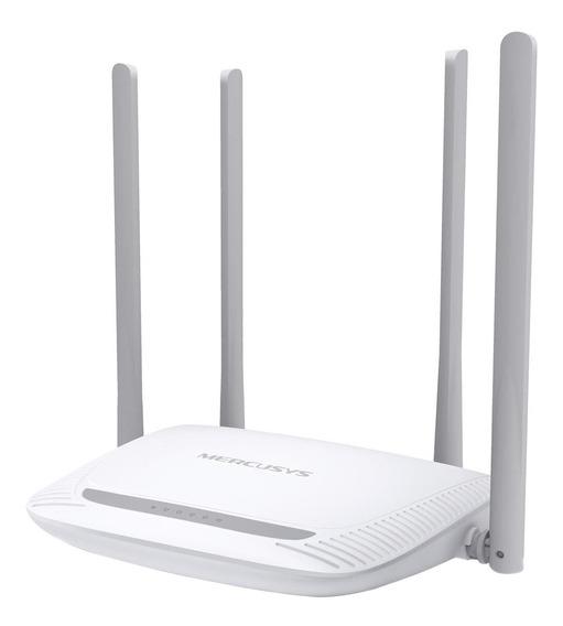 Roteador Wireless Mercusys 300mbps 4 Antenas 5 Dbi 2.4 Ghz
