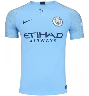 Camisa Manchester City 18/19 Home Premier Envio Imediato