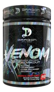 Pré-treino Venom 40 Porções Dragon Pharma - Empedrado