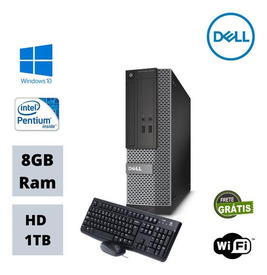 Dell Desktop 3020 Mini Pentium 8gb Ddr3 Hd 1tb Win 10 Oferta