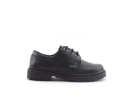 Zapatos Colegial Kickers Kero Escolar Nena Nene Cuero 34-40