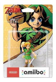 Amiibo Link Majora Mask Nintendo The Legend Of Zelda+ Brinde