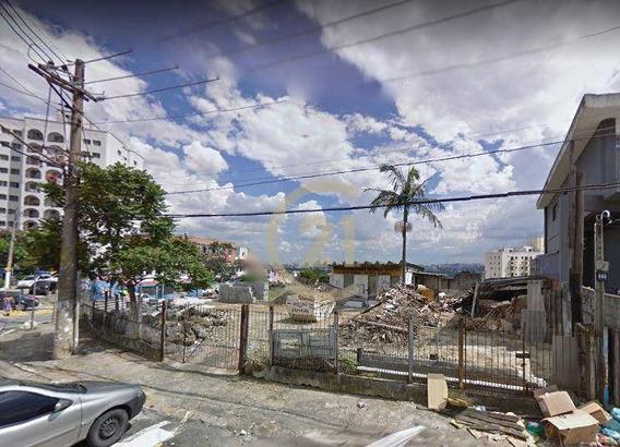 Terreno Em Declive Para Locação No Alto Da Lapa Localização Privilegiada, 1.100m², Esquina, Avenida De Grande Fluxo - Te0272