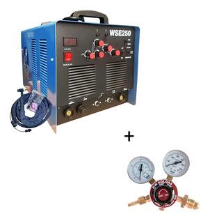 Máquina De Solda Tig Wse250a Inversora Ac/dc Aluminio + Reg