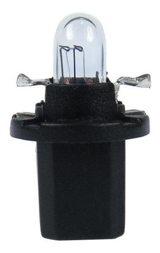 Imagem 1 de 1 de Lâmpada Automotiva 12v 1,2w Base Preta 10 Unidades Gauss
