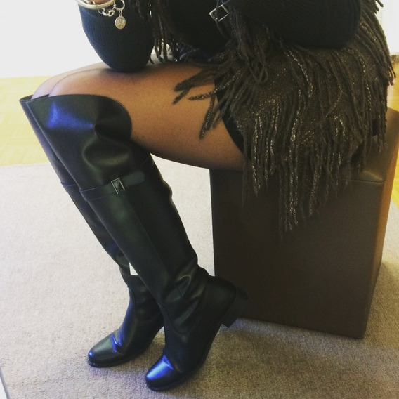 Bota Anitta Montaria Cano Alto Over The Knee Promo 97