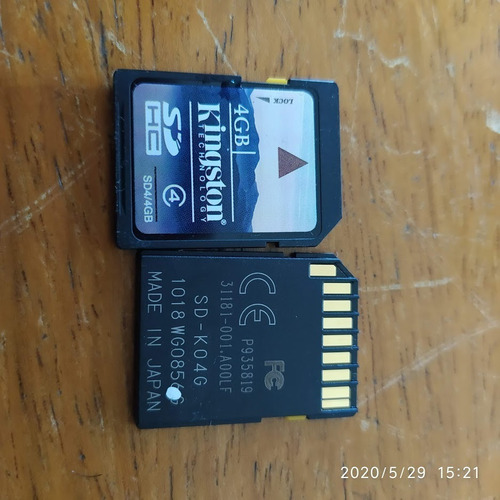 Cartão De Memória Sd 4 Gb -frete Grátis