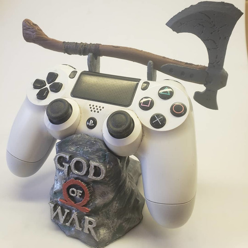Soporte De Joystick Ps4 God Of Ware