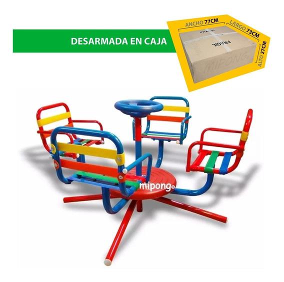 Calesitas Infantiles Caño Reforzado Exterior Interior.