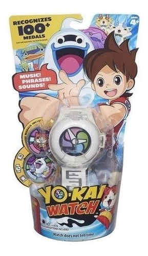 Novo Brinquedo Relogio Yo-kai Watch Musicas Frases E Sons