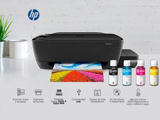 Hp Impresora Multifuncional (imprime Mas Y Paga Menos)