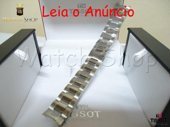 Pulseira Aço Tissot V8 T106417a 22mm Novo Modelo Original