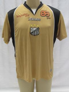 Camisa Futebol Do Bragantino De Jogo #7 Champs Dourada Vc6