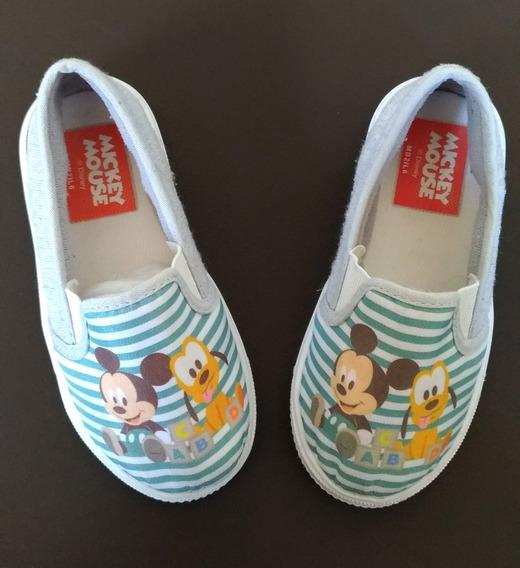 Sapatinho Infantil Mickey Mouse