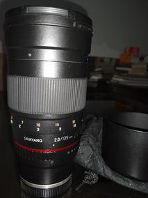 Lentesamyang135mm F / 2.0 Ed Umc Para Montagem Sony E