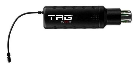 Transmissor Para Microfone Tagsound Tg-88tr Plug-in Sem Fio