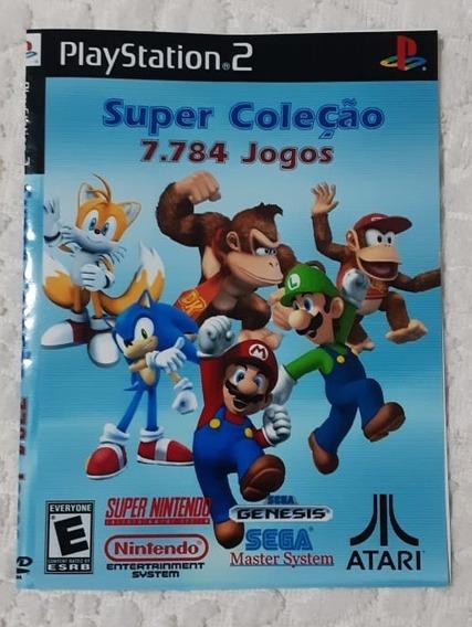Patch 7784 Jogos Super Nitendo, Atari, Sega Ps2 Frete Gratis