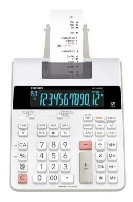 Calculadora C/ Impressão Fr-2650rc Reprint & Check Casio