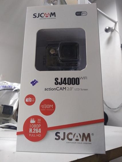 Sjcam Sj4000 Wi-fi Com Microfone Par Motovlog Marca Dudacell