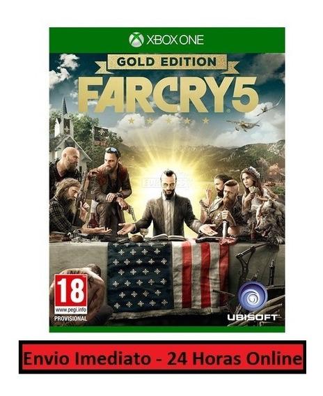 Far Cry 5 Jogo + Todo Conteúdo Extra Xbox One Midia Digital