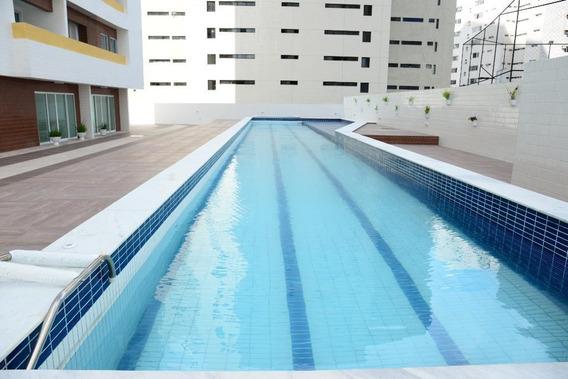 Apartamento Em Brisamar, João Pessoa/pb De 90m² 3 Quartos À Venda Por R$ 400.000,00 - Ap300605