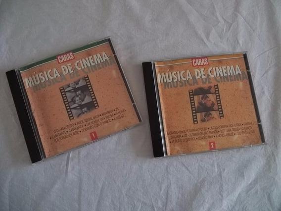 2 Cds Musica De Cinema Coleção Caras - Trilha Filme