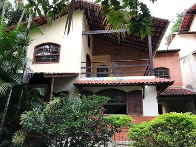 Casa Com 5 Dormitórios Para Alugar, 400 M² - Vila Progresso - Niterói/rj - Ca0098