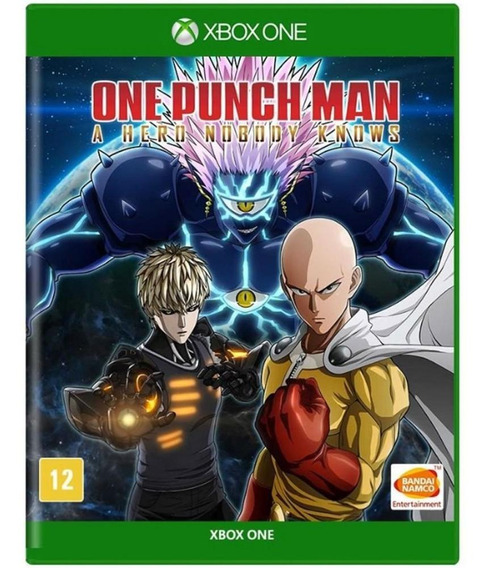 One Punch Man A Hero Nobody Knows Xbox One Mídia Física Novo