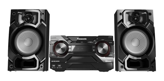 Mini System Panasonic Sc-akx220lbk 450w Preto Bivolt