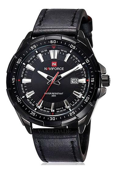 Relógios Naviforce 9056 Pulseira Couro