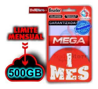 Cuenta Premium 1 Mes Mega (500gb, Garantizada!)