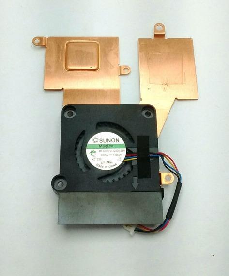 Netbook Asus Eee Pc 1001px Cooler Com Dessipador Usado