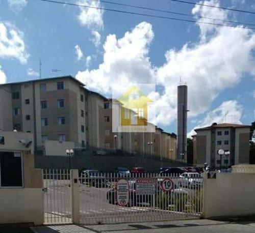 Apartamento A Venda No Bairro Santa Cândida Em Curitiba - - 566-1