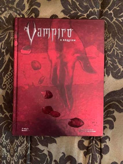 Lote Livros Rpg Vampiro O Requiem