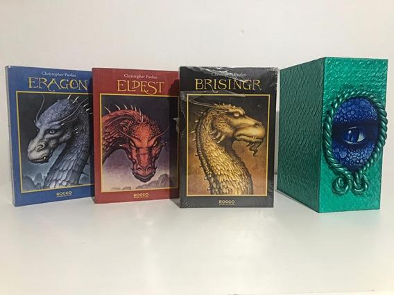 Caixa Personalizada Box 3 Livros Eragon Eldest Brisingr