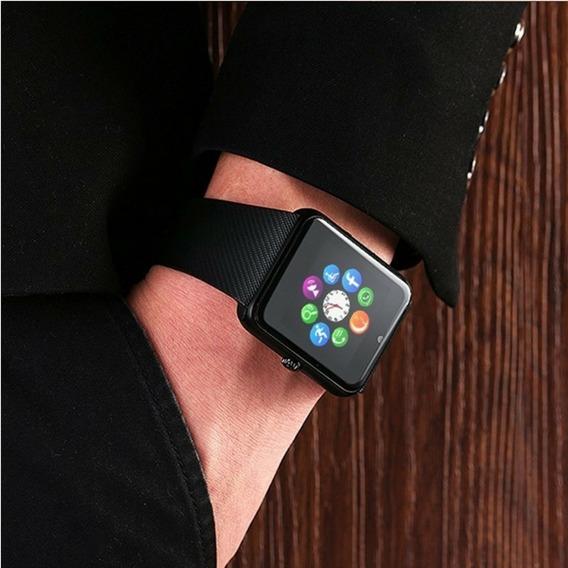 Relógio Masculino Feminino Digital Smartwhatch Chip Faz Liga