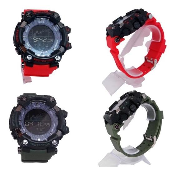 Relógio Masculino De Luxo Digital 20 Bar Frete Grátis