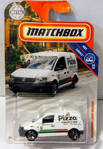Volkswagen Caddy Delivery Matchbox Repartidor Pizza