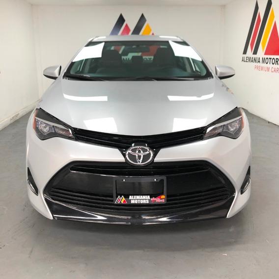 Toyota Corolla Le 2017 Plata Sedan At