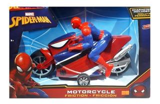 Moto A Friccion Spiderman Marvel