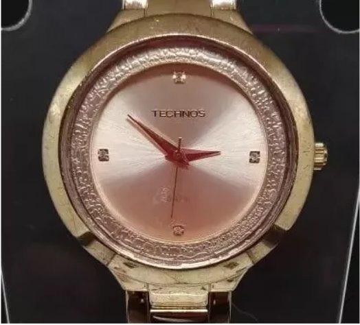 Relógio Technos T03152 Feminino Bronze Wu007 Webclock